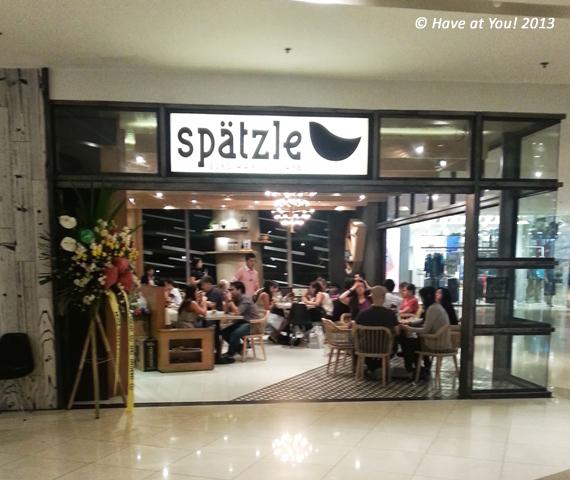 Spatzle storefront