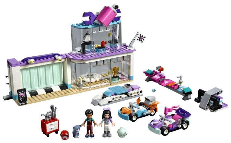 Contenido de Lego® 41351 Taller de Tuneo Creativo