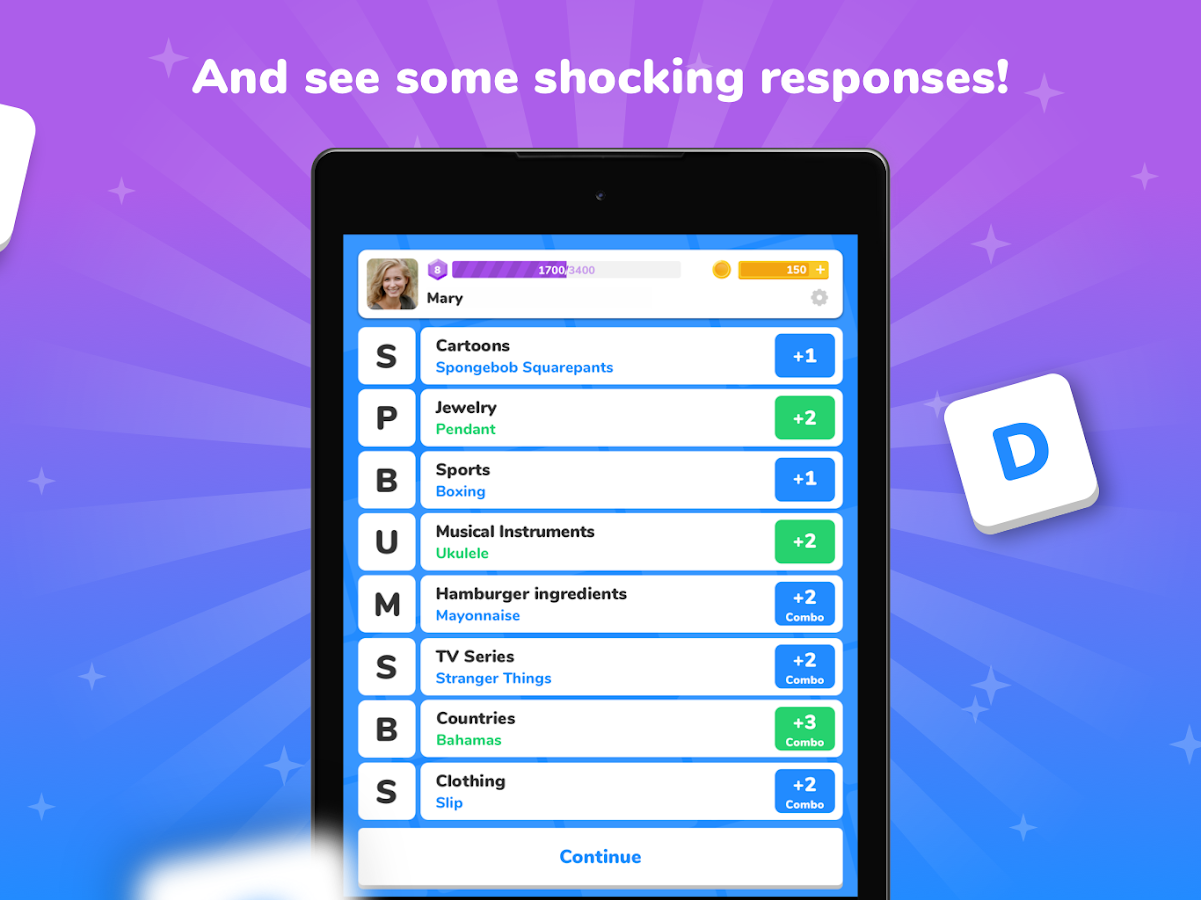 Screenshots of 94 Seconds - Categories Game for iPhone