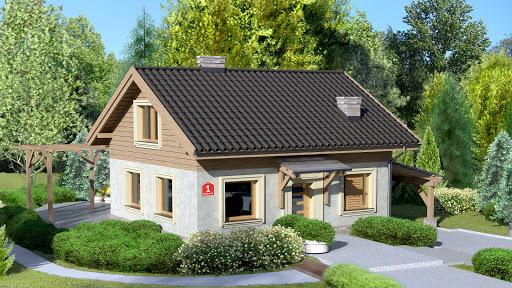 projekt Dom przy Imbirowej