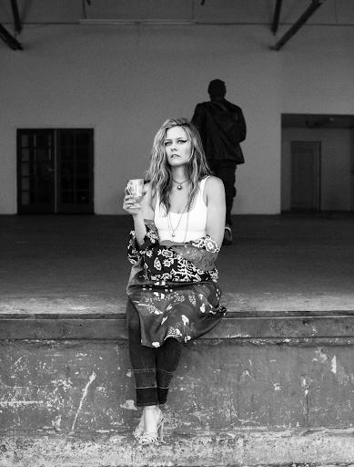 Alicia Silverstone in Calvin Klein Bra