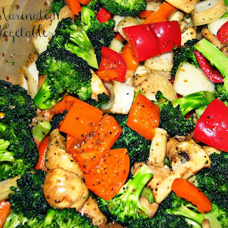 Marinated Vegetables on the Grill Recipe
