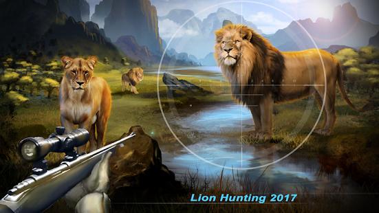 Lion Hunting - 2017 Sniper 3D - náhled