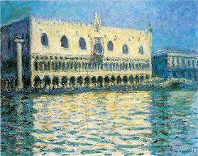 """Photo: Claude Monet, """"Palazzo Ducale a Venezia"""""""