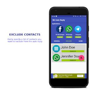App IM Auto Reply APK for Windows Phone