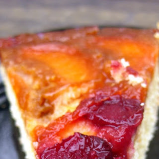 Cherry-Apricot Upside Down Cake