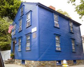 Photo: Một kiểu nhà lạ ở Newport, tiểu bang Rhode Island.