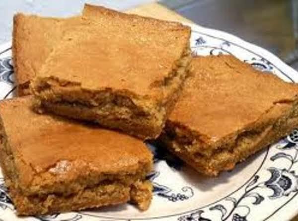 Peanut Butter Apple Cookie Bars