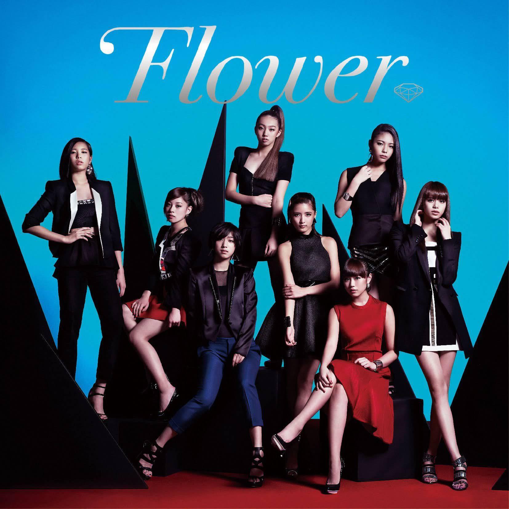 "Capa do álbum ""Flower"" – Regular Edition."
