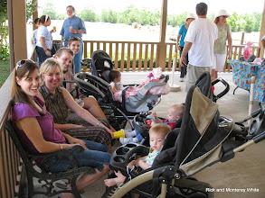 Photo: Moms and Babes at Cypress Creek Station.   Peter Bryan photo.  HALS 2009-0620