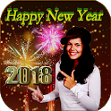 New Year Photo Frames-2018 Greetings Wishes icon