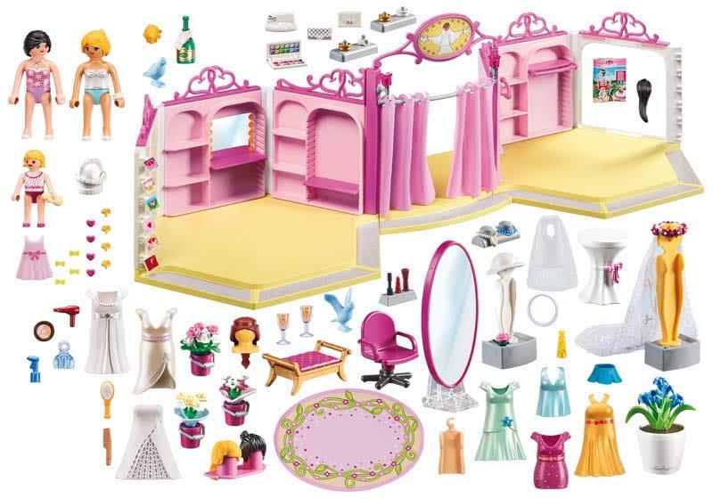 Contenido real de Playmobil® 9226 Tienda de Novias