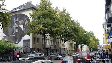 "Photo: CityLeaks 2013; TIKA, ""Queen of the Night"" , Brüsseler Straße 49"
