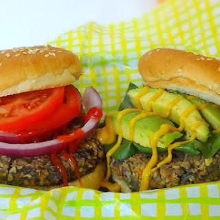 Hefty, Hearty Mushroom Burgers [Vegan].