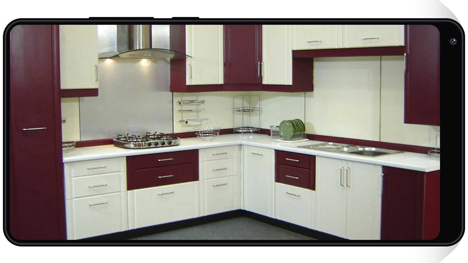 Latest kitchens designs 2018 android apps on google play for What is new in kitchen design