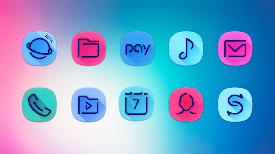 Unicorn Dark – Icon Pack Patched Apk 2