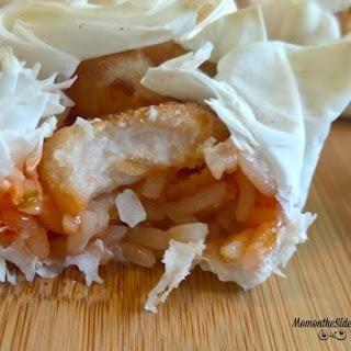 Sweet and Sour Popcorn Shrimp Pockets Recipe