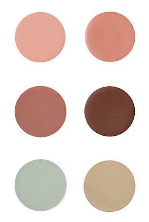 Suprasmink liten, brun/grön