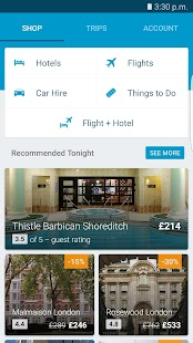 ebookers Hotel Flight Car Hire - náhled