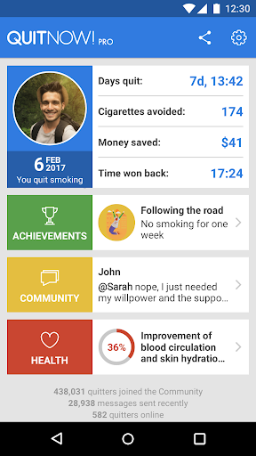 QuitNow! PRO – Stop smoking v5.71.1 [Paid]