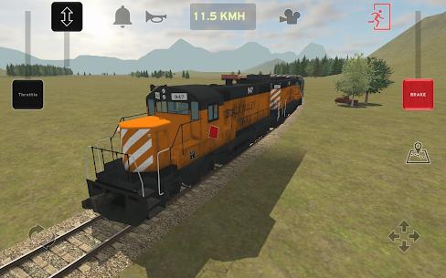 Train and rail yard simulator 8