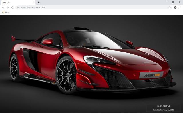 McLaren 688 HS New Tab