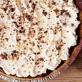 No Bake Three Layers Chocolate Pie