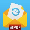 🔥SMS Backup, Print & Restore -Export PDF,HTML,CSV icon