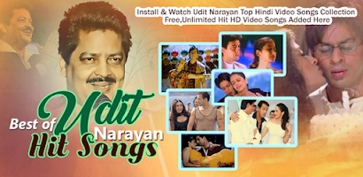 Udit Narayan Hit Songs - Android app on AppBrain