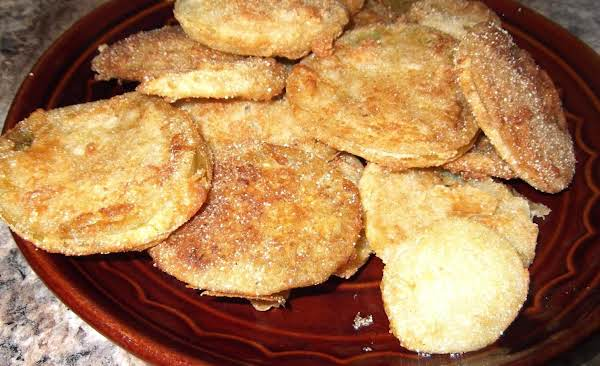Simple Country Fried Green Tomatoes