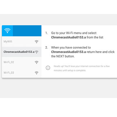 how to update chromecast manually