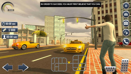 Car Taxi Driver Simulator 2019 1.4 screenshots 2