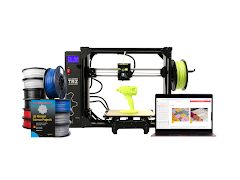 LulzBot TAZ Workhorse 3D Printer Educational Bundle