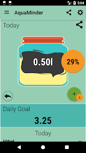 AquaMinder: Water Tracker & Water Reminder - náhled