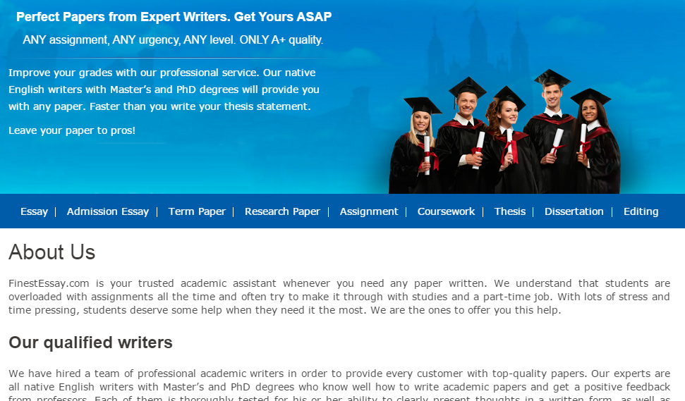 professional college essay help Quality academic help from professional paper & essay writing service best team of research writers makes best orders for students bulletproof company that guarantees customer support & lowest prices & money back place with timely delivery and free revisions that suit your needs.