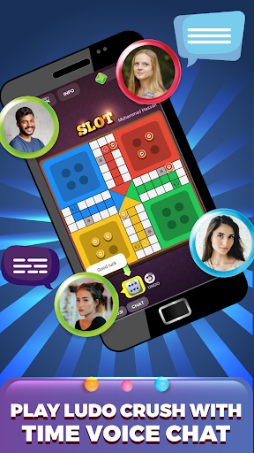 Ludo Crush - Voice Chat With Players - Multiplayer  screenshots 1