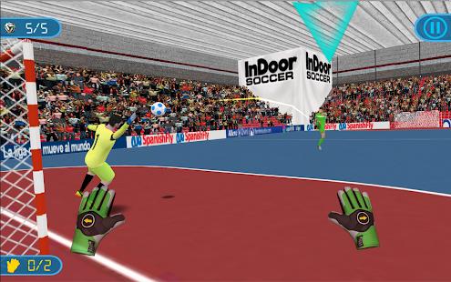 Fotbalový brankář - Futsal - náhled