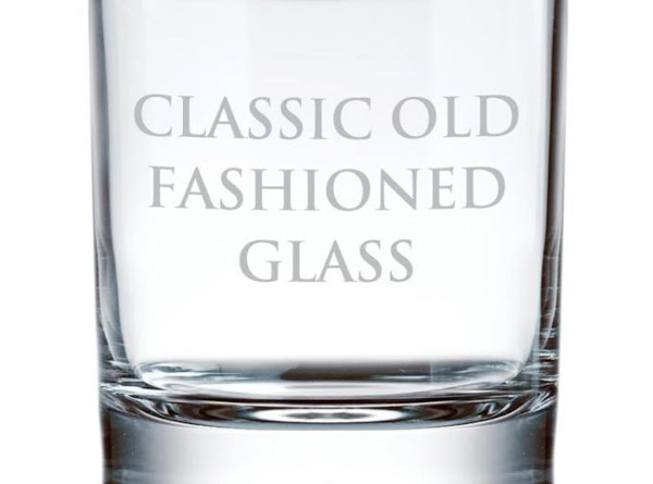 """OLD-FASHIONED GLASS A short, round so called """"Rocks"""" glass, suitable for cocktails or liquor served..."""