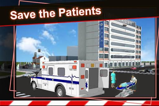シティ救急車レスキュー ドライバー