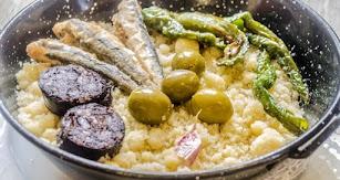 Imagen de la cocina tradicional de Feria en la ciudad de Almería.