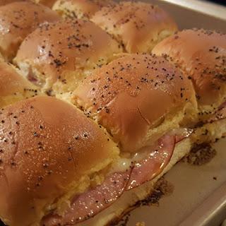 Ham And Swiss Cheese Sliders