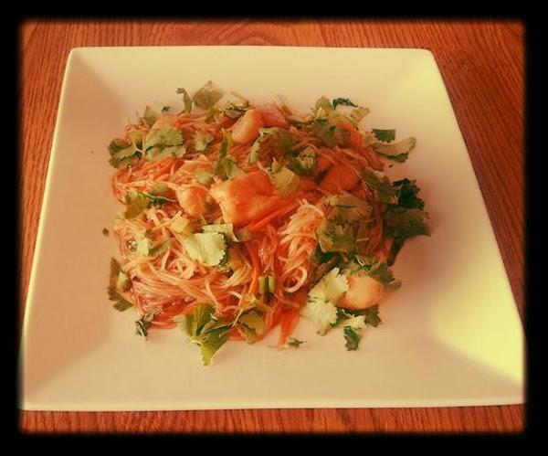 Spicy Thai Chicken Noodle Bowl Recipe