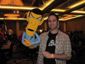 Photo: Spock Puppet!