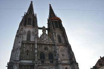 Photo: Řezenská katedrála je jediná gotická katedrála v Bavorsku. Věže vysoké 105 metrů nechal v polovině 19. století postavit král Ludwig I.