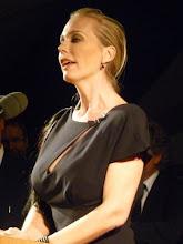 Photo: Bayreuths Festspielleiterin Katharina Wagner beim Staatsempfang nach der Tannhäuser-Premiere am 25.7.2011. Foto: Dr. Klaus Billand