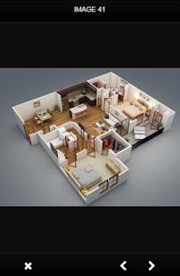 House Sketch 3D Design - náhled