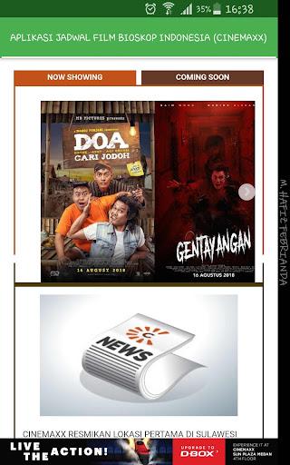Aplikasi Jadwal Film Bioskop Indonesia 1.0 screenshots 17