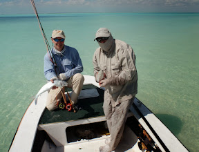 Photo: Another double- Andros Island Bonefish Trip