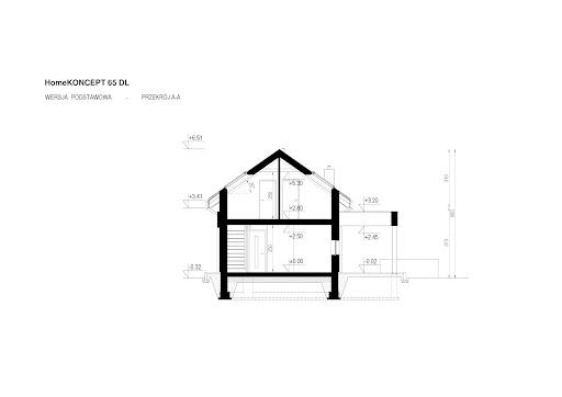 Koncept-65 DL - Przekrój