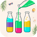 Watery Bottle - Water Color Sort Puzzle Game icon